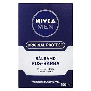 Loção Pós Barba Nivea Original Protect 100ml