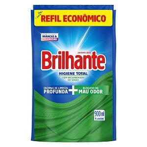 Lava Roupas Brilhante Higiene Total Refil 900ml
