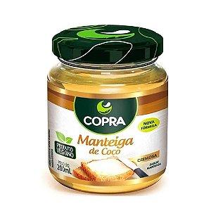 Manteiga de Coco Copra Cremosa 200ml