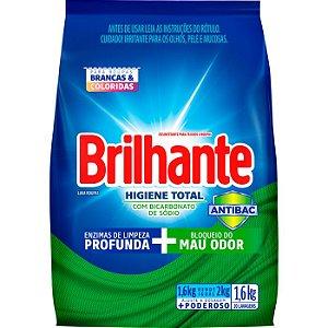 Sabão em Pó Brilhante Higiene Total 1,6Kg