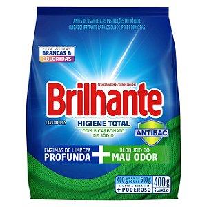 Sabão em Pó Brilhante Higiene Total 400g