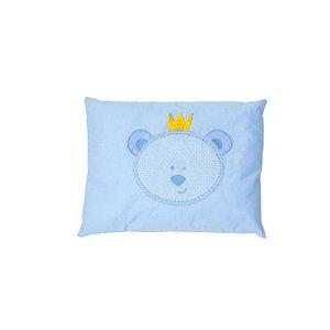Travesseiro Papi 28x38cm Urso Azul