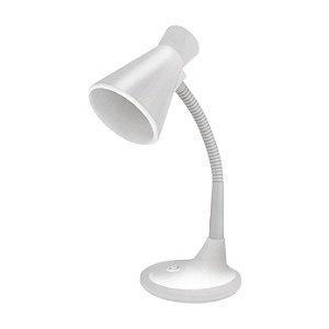 Luminária de Mesa Taschibra TLM 03 Articulável Branca