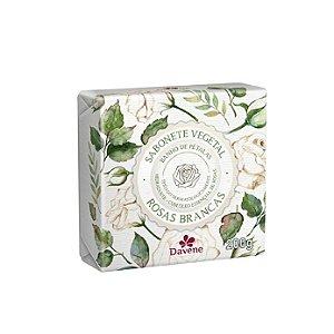 Sabonete Vegetal Davene Rosas Brancas 200g