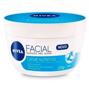 Creme Facial Nívea Nutritivo 100ml