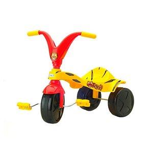 Triciclo Xalingo Tigrão Vermelho e Amarelo