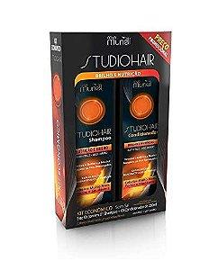 Kit Shampoo e Condicionador Muriel Brilho e Nutrição 250ml
