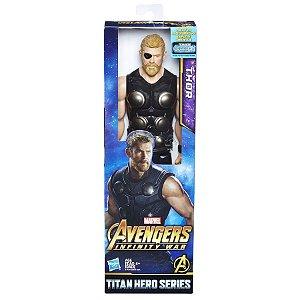 Boneco Thor Avengers Infinity War - Hasbro Série Titan Hero