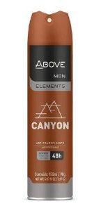Desodorante Aerosol Above Men Elements Canyon 150ml