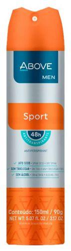 Desodorante Aerosol Above Men Sport 150ml