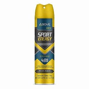 Desodorante Aerosol Above Men Sport Energy 150ml