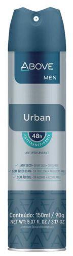 Desodorante Aerosol Above Men Urban 150ml
