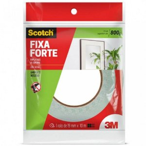 Fita Dupla Face 3m Scotch Fixa forte S0412