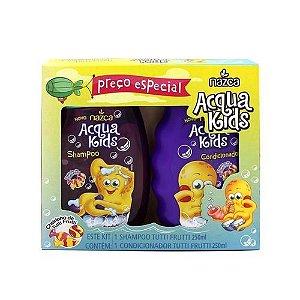 Kit Shampoo e Condicionador Nazca Acqua Kids Tutti Frutti 250ml