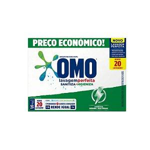 Sabão em Pó Omo Lavagem Perfeita Sanitiza & Higieniza 1,6kg