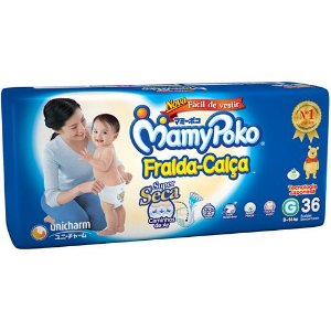 Fralda Descartável Mamypoko Fralda-Calça G 36 unidades