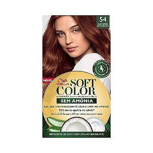 Coloração Soft Color 54 Castanho Acobreado