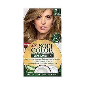 Coloração Soft Color 71 Louro Acinzentado