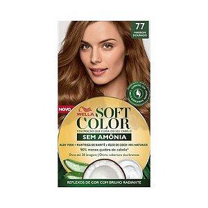 Coloração Soft Color 77 Marrom Dourado