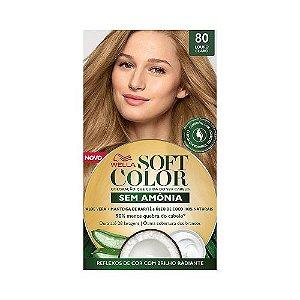 Coloração Soft Color 80 Louro Claro