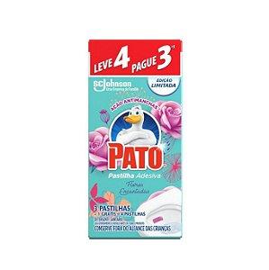 Pastilha Adesiva Pato Flores Encantadas Leve 4 Pague 3