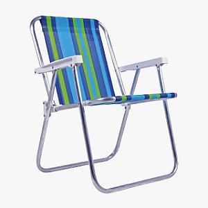 Cadeira de Praia Bel Fix Alta 7255