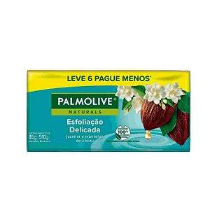 Sabonete Palmolive Naturals Esfoliação Delicada Leve 6 Pague 5