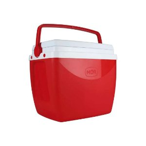 Caixa Térmica Mor 6L Vermelho