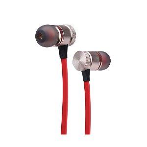 Fone de Ouvido Bluetooth Intra ELG EPB-IM1-RDRN Red Nose Vermelho
