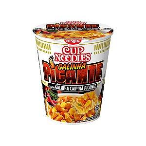 Cup Noodles Nissin Galinha Caipira Picante 68g