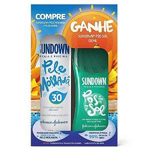 Protetor Solar Sundown Praia e Piscina FPS30 + Gel Sundown Pós Sol