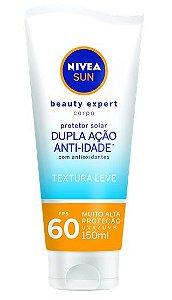 Protetor Solar Nivea Sun Beauty Expert Corpo FPS60 150g