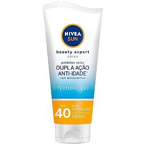 Protetor Solar Nivea Sun Beauty  Expert Corpo FPS40 150g