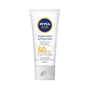 Protetor Solar Nivea Sun Toque Seco Antissinais FPS60 50ml