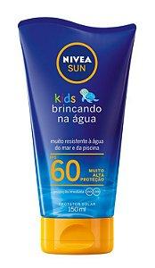 Protetor Solar Nivea Sun Kids Brincando Na Água FPS60 150ml