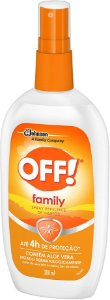 Repelente Johnson Off Family Spray 200ml
