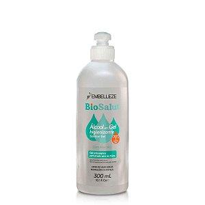 Álcool em Gel 70% Antisséptico BioSalut C/ Aloe Vera 300ml