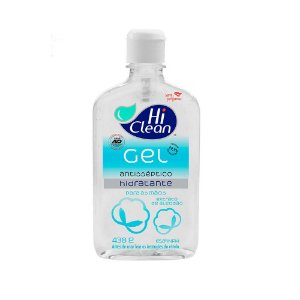 Gel Antisséptico Hidratante Hi Clean 70% Sem Perfume 438g