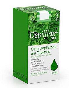 Cera Depilatória Depilflax Hortelã 250g