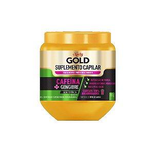 Creme de Tratamento Niely Gold Cafeína + Gengibre Sumplemento Capilar 800g