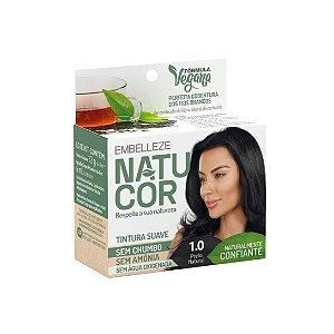 Coloração Natucor 1.0 Preto Natural