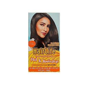 Creme Alisante Hairlife Mel e Amêndoas 160g