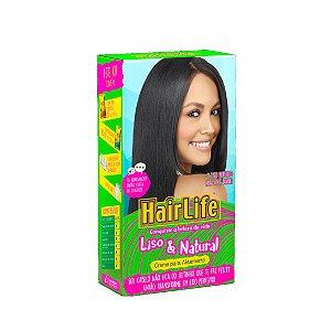 Creme Alisante Hairlife Liso e Natural 180g