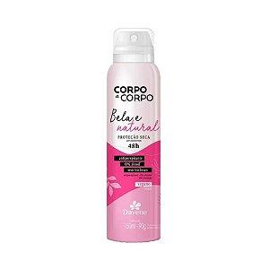 Desodorante Aerosol Corpo a Corpo Bela e Natural 150ml