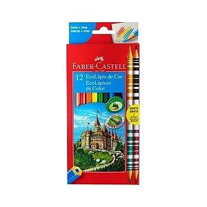 Lápis de Cor Faber Castell 120112/2B 10+2 Bicolor