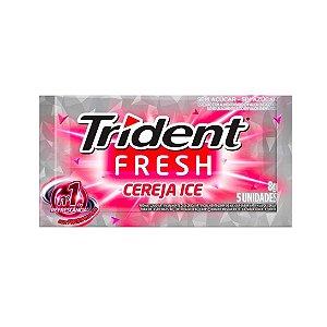 Chiclete Trident Fresh Cereja Ice 8g