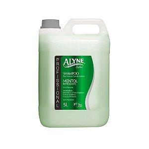 Shampoo Alyne Profissional Mentol Refrescante 5L