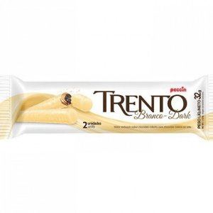 Wafer Trento Branco Dark 32g