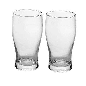 Conjunto de Copos de Vidro Para Cerveja Rojemac C/2 Copos 500ml