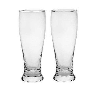 Conjunto de Copos de Vidro Para Cerveja Rojemac C/2 Copos 430ml